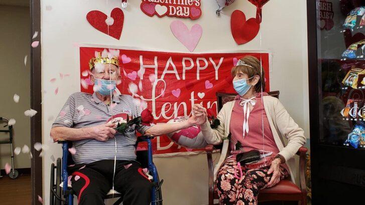 Manors of the Valley Valentine's Day Celebration